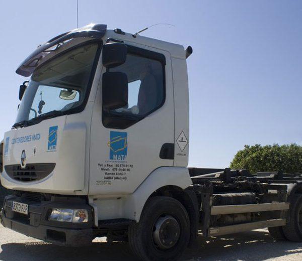 Camión para contenedores de 3m3