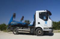 Camión contenedor de 3 m3