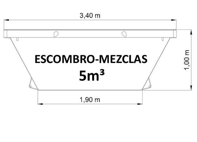 contenedor-5-m3-escombro-mezclas